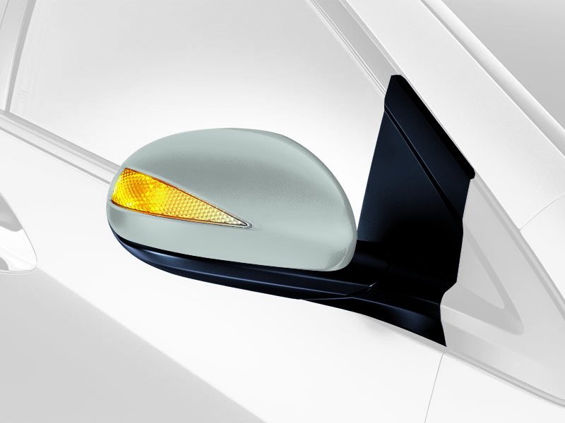 genuine honda civic complete  mirror fully assembled   kit  motor parts