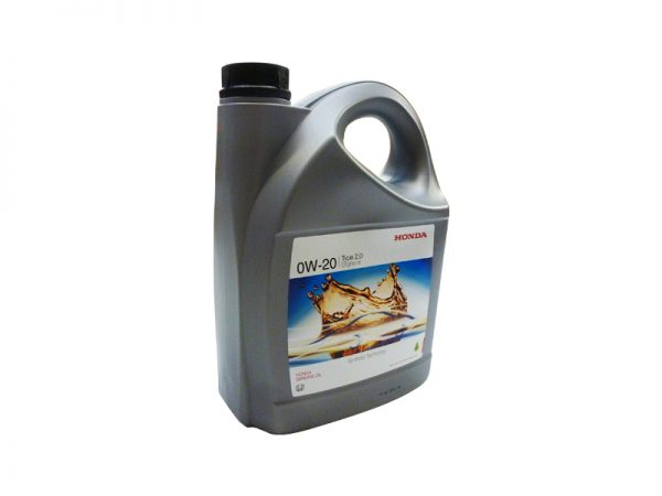 Genuine Honda 0W-20 Type 2.0 Synthetic Engine Oil 4 Litres