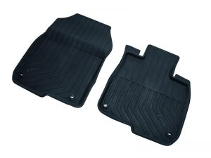 Genuine Honda CR-V Front Lipped Rubber Mats 2019 Onwards