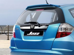 Genuine Honda Jazz Chrome Tailgate Decoration