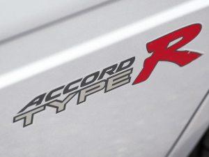 Genuine Honda Accord Type R Rear Side Decals 1999-2002