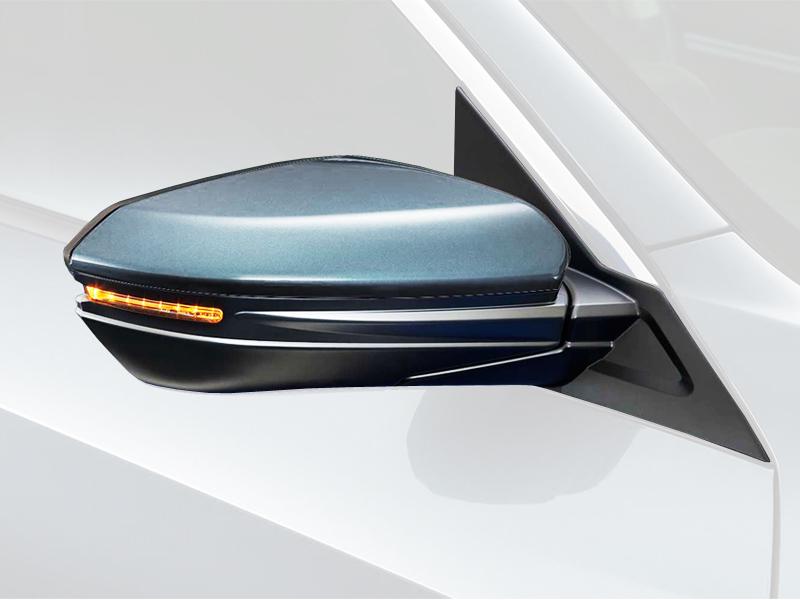 2017 Honda Pilot Ex >> Genuine Honda Civic Complete Right Mirror Fully Assembled 2017 Onwards - 76208KIT - Cox Motor Parts