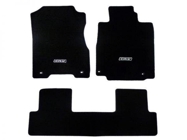 Genuine Honda CR-V Elegance Black Carpet Mats 2013-2018
