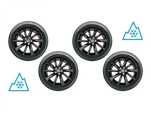 Genuine Honda CR-V NOX 19″ Alloy Wheel Set 2007-2018