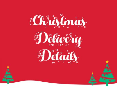 Christmas Delivery Details