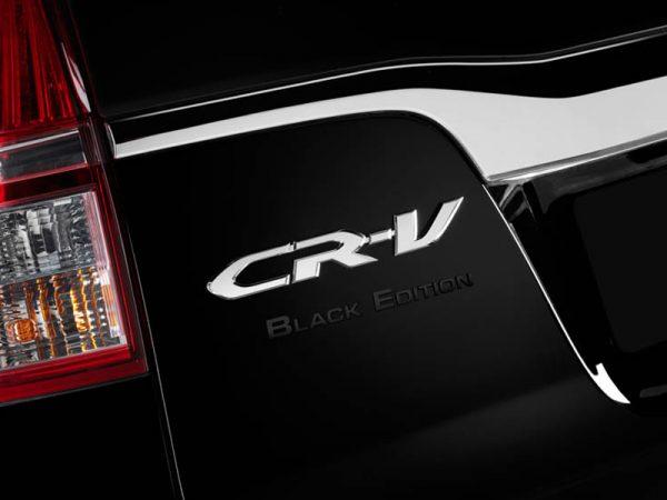 Genuine Honda CR-V & HR-V Black Edition Badge