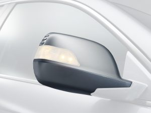 Honda CR-V Right Side Mirror Scull Cap/Housing Set