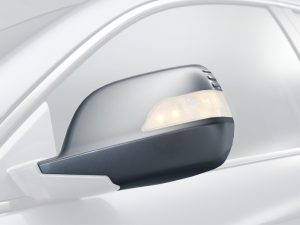 Honda CR-V Left Side Mirror Scull Cap/Housing Set