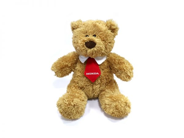 Genuine Honda Ted Bear with Collar & Tie