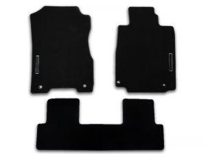 Genuine Honda Cr-v Black Edition Carpet Mats 2013-2018