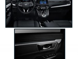 Genuine Honda Cr-v Silver Interior Panel Kit-2019 Onwards