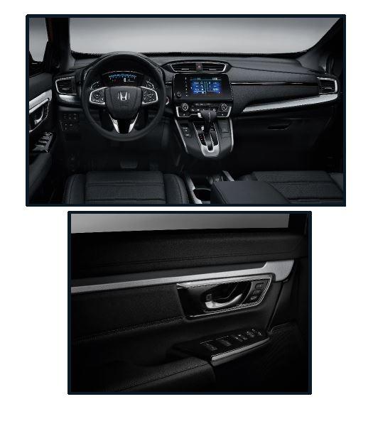 Genuine Honda Cr-v Silver Interior Panel Kit-2019 Onwards