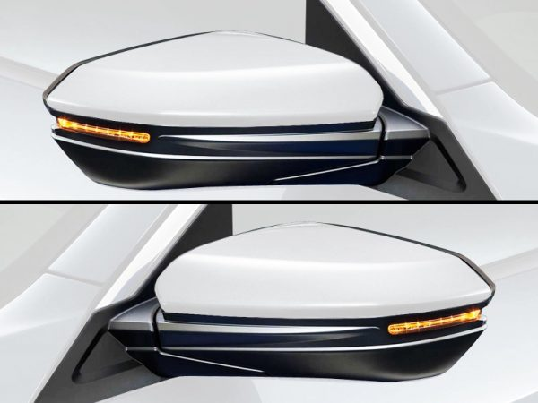 Genuine Honda Civic Left & Right Mirror Scull Caps 2017 Onwards