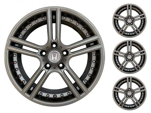 Le Mans Set Of 4 Anthracite