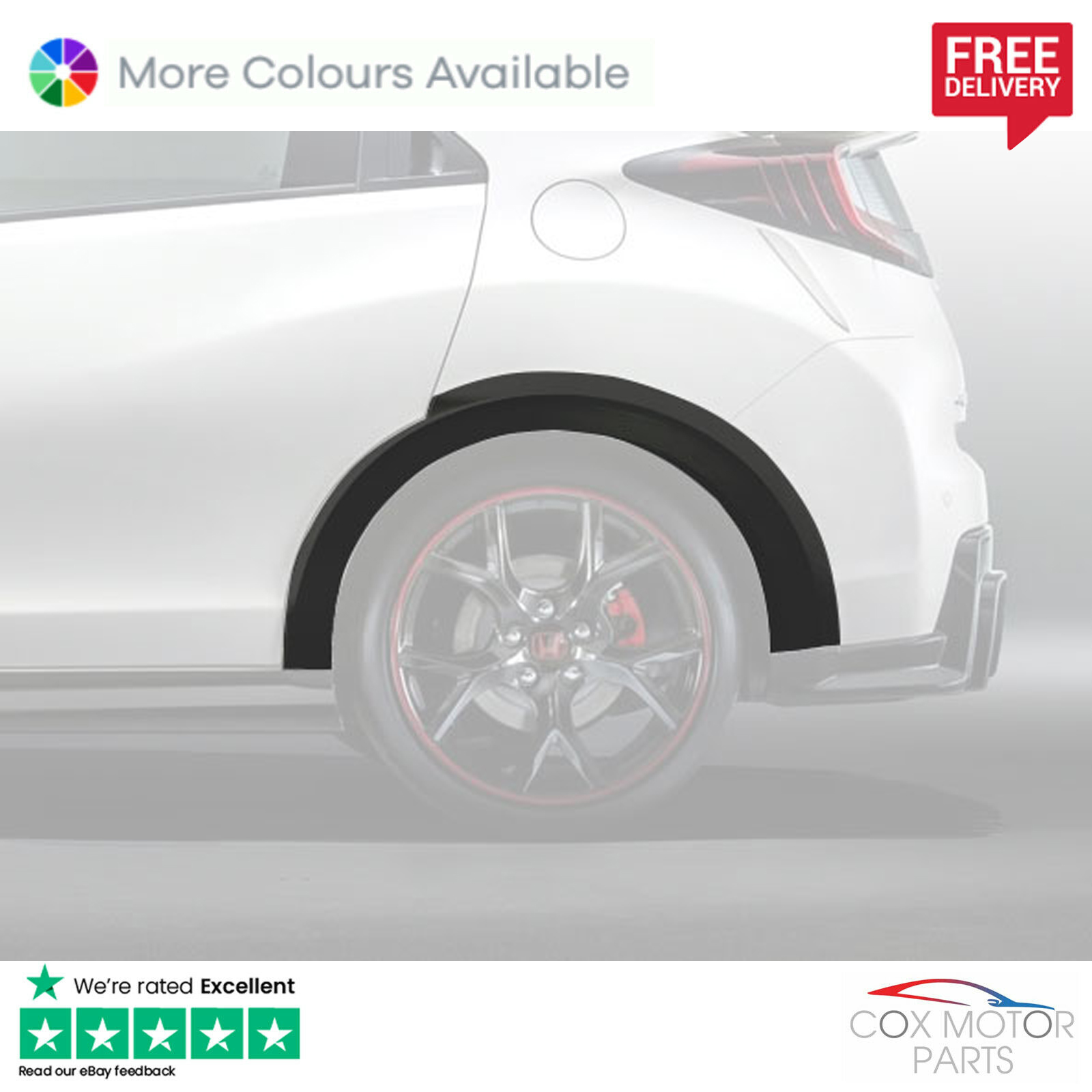 Genuine Honda Civic Type-R 2015-2016 Carpet Mats FK2
