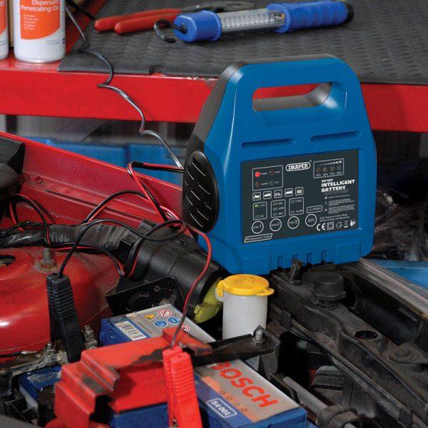 Draper 6-12v Intelligent Battery Charger 33861
