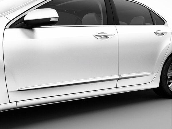 Genuine Honda Insight Side Body Moulding Trims (Taffeta White) 2010-2014