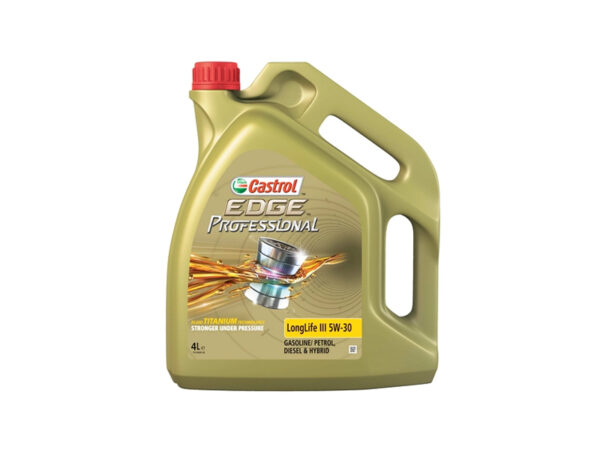 CASTROL EDGE PROFESSIONAL LONGLIFE III 5W30 FULLY SYNTHETIC ENGINE OIL 4 LITRES 4L
