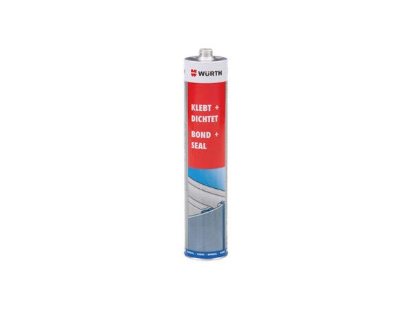 Wurth Bond & Seal White Adhesive Sealant Cartridge 300ml