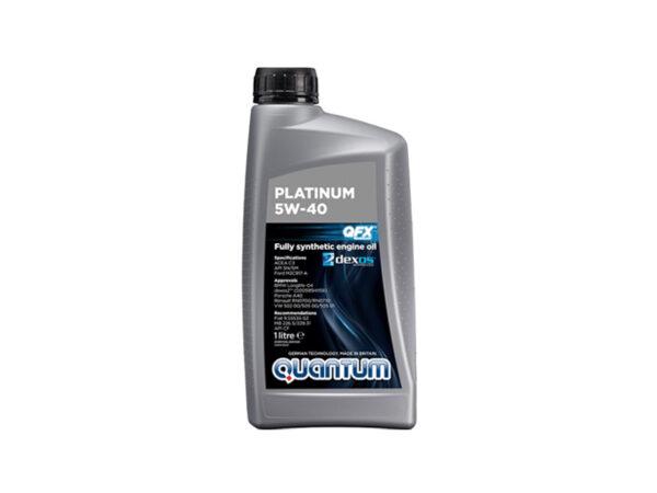 Genuine Quantum Platinum 5W40 Fully Synthetic Engine Oil 1 Litre